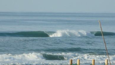 Surf report FR, Mimizan - Plage Garluche (40) du 2012-12-09 16:00:00