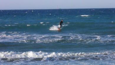 Surf report FR, Le Prado (13) du 2012-01-08 09:00:00