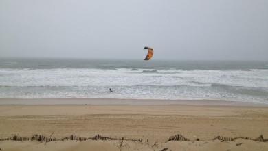 Wind report FR, Lacanau Océan - La Nord (33) du 2012-01-21 13:00:00