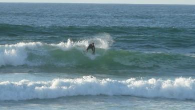 Surf report FR, Mimizan - Plage Garluche (40) du 2012-01-24 16:00:00