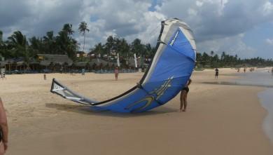 Wind report LK, Kalpitya lagoon (LK) du 2012-02-10 10:00:00
