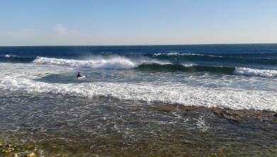 Surf report FR, Sausset les Pins - Plage du Port (13) du 2012-04-08 17:00:00
