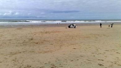 Wind report FR, Hourtin Océan - La Centrale (33) du 2012-04-09 15:00:00