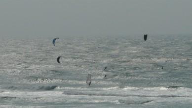 Wind report FR, Biscarrosse Plage (40) du 2012-04-15 17:00:00