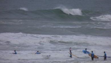 Surf report FR, Vieux Boucau (40) du 2012-04-23 11:00:00
