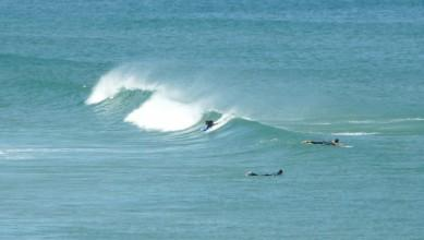 Surf report FR, Cap de l'Homy (40) du 2012-06-14 11:00:00