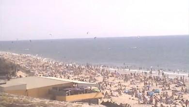 Wind report FR, Biscarrosse Plage (40) du 2012-07-22 18:00:00
