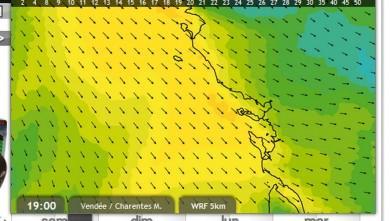 wind report FR, La Palmyre - Bonne-Anse (17) du 2012-07-28 16:00:00