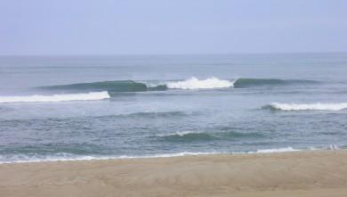 wave report FR, Vieux Boucau (40) du 2012-08-04 09:00:00