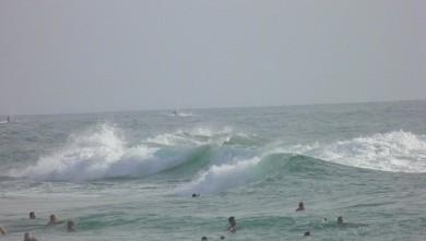 wave report FR, Vieux Boucau (40) du 2012-08-18 19:00:00