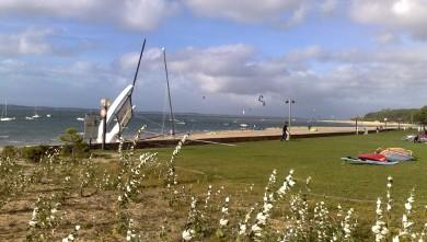 wind report FR, Arcachon - Les Arbousiers (33) du 2012-09-24 17:00:00
