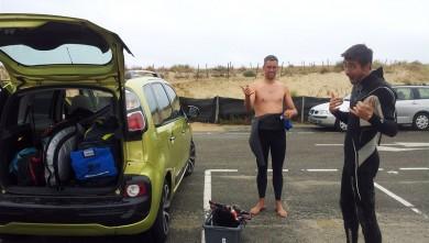 Surf report FR, Biscarrosse Plage (40) du 2012-10-07 13:00:00