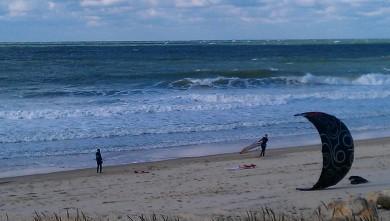 Wind report FR, Lacanau Océan - La Nord (33) du 2012-10-27 13:00:00