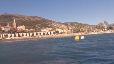 Surf report FR, Menton - Baie du Soleil (06) du 2012-11-05 15:00:00