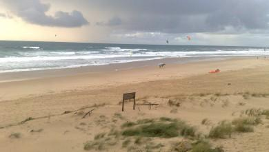 Wind report FR, Lacanau Océan - La Nord (33) du 2012-11-10 14:00:00