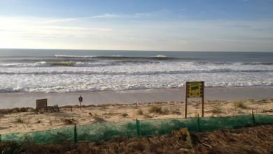 Surf report FR, Lacanau Océan - La Nord (33) du 2013-01-25 16:30:00