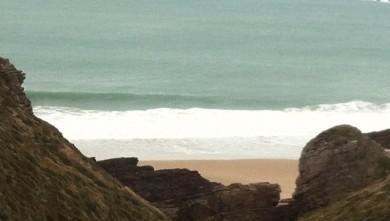 Surf report FR, Cap Frehel (Poori) (22) du 2013-01-28 15:00:00