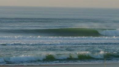 Surf report FR, Mimizan - Plage Garluche (40) du 2013-02-19 17:50:00