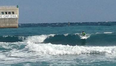 Surf report FR, Plage Marquet (06)