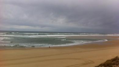 Surf report FR, Mimizan - Plage Garluche (40) du 2013-03-11 11:01:00