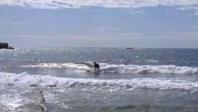 wave report FR, Sausset les Pins - Plage du Port (13) du 2013-04-12 12:00:00