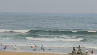 Surf report FR, Vieux Boucau (40) du 2013-08-01 08:25:00