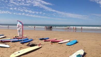 Surf report FR, St Gilles-Croix-de-Vie (85) du 2013-08-12 11:46:00