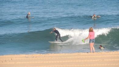 Surf report FR, Vieux Boucau (40) du 2013-08-14 09:10:00