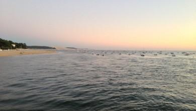 Surf report FR, Arcachon - Les Arbousiers (33) du 2013-08-14 21:33:00