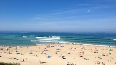 wave report FR, Biscarrosse Plage (40) du 2013-08-17 12:12:00
