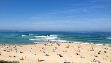 Surf report FR, Biscarrosse Plage (40) du 2013-08-17 12:12:00