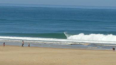 Surf report FR, Mimizan - Plage Garluche (40) du 2013-08-20 12:00:00