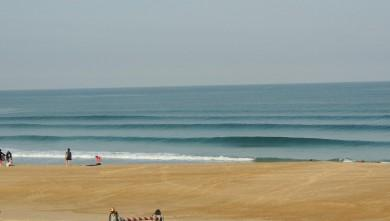 Surf report FR, Vieux Boucau (40) du 2013-08-22 09:10:00
