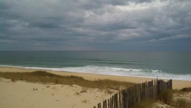 Surf report FR, Vieux Boucau (40) du 2013-10-25 09:15:00