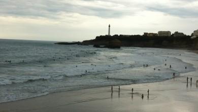 Surf report FR, Biarritz - Grande Plage (64) du 2013-10-26 16:31:00
