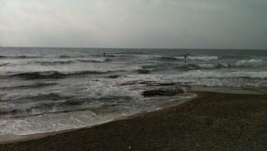Surf report FR, Sausset les Pins - Plage du Port (13) du 2013-10-27 12:31:00
