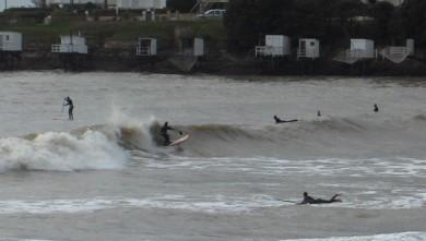 Surf report FR, Royan - Pontaillac (17) du 2013-01-12 16:00:00