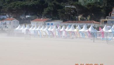 Wind report FR, Leucate - La Franqui (11) du 2013-04-20 09:00:00