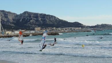 Surf report FR, Le Prado (13)