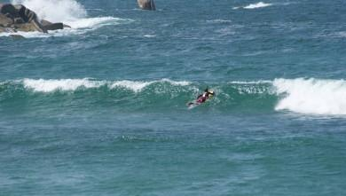 Surf report FR, La Mauvaise Grève (29) du 2013-08-18 15:00:00