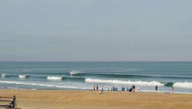 Surf report FR, Vieux Boucau (40) du 2013-08-22 12:00:00