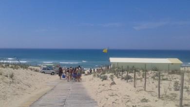 Surf report FR, Le Porge (33) du 2013-07-07 14:00:00
