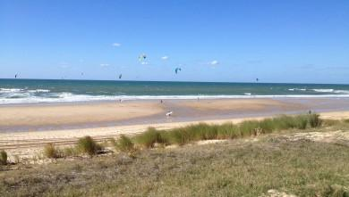 Wind report FR, Lacanau Océan - La Nord (33) du 2013-10-10 15:00:00