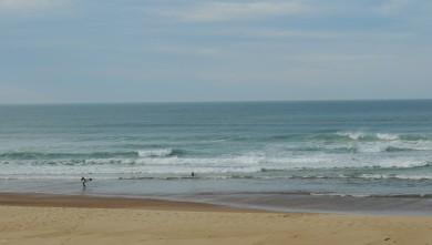 Surf report FR, Vieux Boucau (40) du 2013-10-24 14:00:00