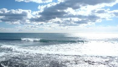 wave report FR, Sausset les Pins - Plage du Port (13) du 2014-03-01 14:45:00