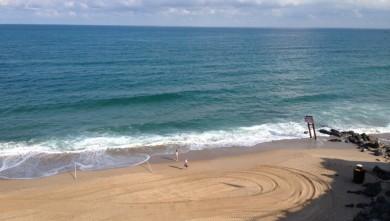 wave report FR, Côte des Basques (64) du 2014-08-03 09:50:00
