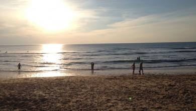 Surf report FR, Le Porge (33) du 2014-09-07 19:41:00