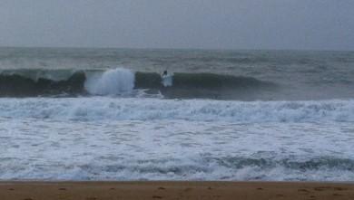 wave report FR, Biarritz - Grande Plage (64) du 2014-10-07 19:36:00