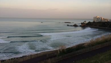 Surf report FR, Côte des Basques (64) du 2014-10-24 08:48:00