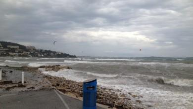 Surf report FR, Cannes - Palm Beach (06) du 2014-11-28 11:00:00